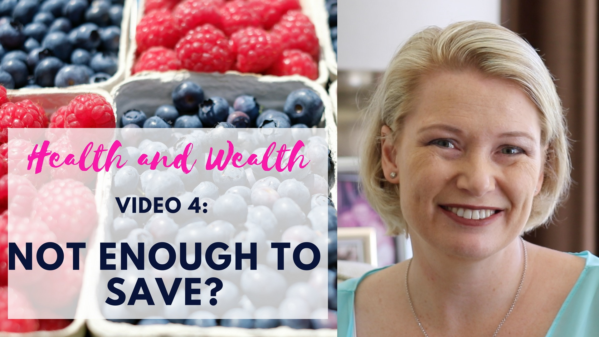 Video 5 – Saving when there's not enough to save