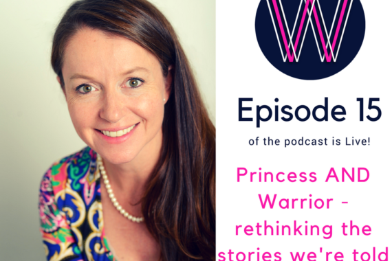 Princess warrior with Wendy Pienaar
