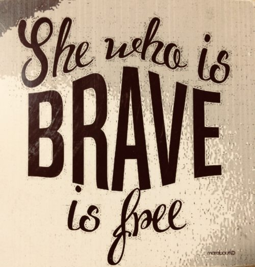 The Brave to be Free series – Part 1