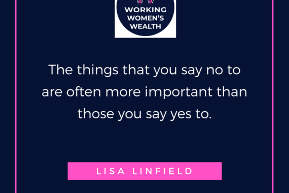 The courage to say no by Lisa Linfield