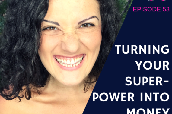 Turning your super-power into money with Zee Najarian