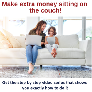 Earn $1000 on the couch video training