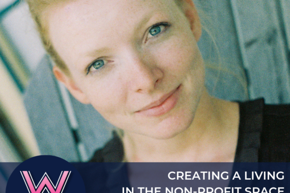 72 Creating a meaningful living in the non-profit space with Crystaline Randazzo