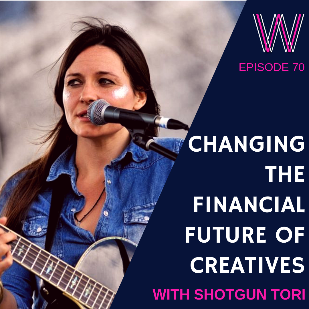 70 Changing the financial future of Creatives with Shotgun Tori