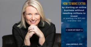 Start an online business webinar