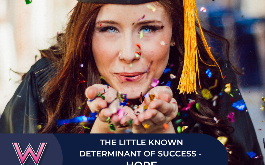 129 The little known determinant of success – hope